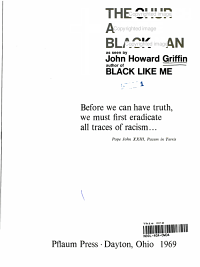 The Church and the Black Man