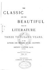 The Classic and the Beautiful from the Literature of Three Thousand Years: Volume 3