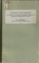 Japan Or Java  PDF