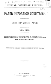 Paper in Foreign Countries: Uses of Wood Pulp