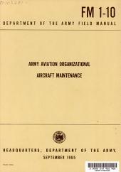 Army Aviation Organizational Aircraft Maintenance