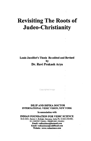 Revisiting the Roots of Judeo-Christianity