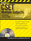 CliffsNotes CSET  with CD ROM Book