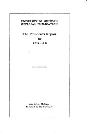 The President s Report PDF