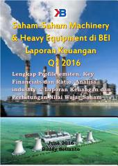 Saham-Saham Basic Industry & Chemical di BEI per Laporan Keuangan Q1 2016: Lengkap Profile emiten, Key Financials dan Ratio, Analisa industry & Laporan Keuangan dan Perhitungan Nilai Wajar Saham