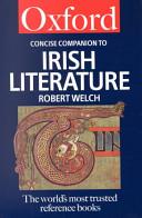 The Concise Oxford Companion to Irish Literature PDF