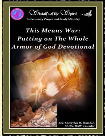 This Means War  Putting On The Whole Armor Of God Devotional