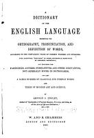 Dictionary of English Language Exhibiting Orthography  Pronunciation and Definition of Words PDF