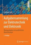 Aufgabensammlung zur Elektrotechnik und Elektronik PDF