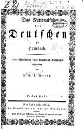Das Nationalfest der Deutschen zu Hambach: Bände 1-2