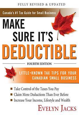 Make Sure It s Deductible  Fourth Edition