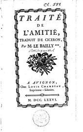 Traité de l'Amitié