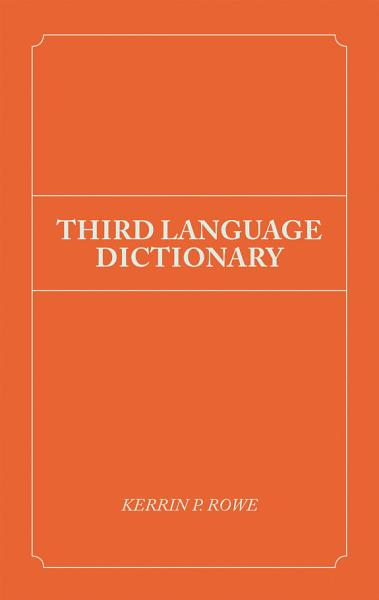 Download Third Language Dictionary Book