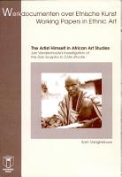 The Artist Himself in African Art Studies PDF