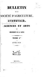 Bulletin: Volumes1à2