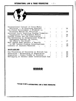 International Law   Trade Perspective PDF
