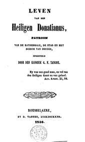 Leven van den Heiligen Donatianus, patroon van Brugge