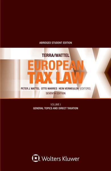 European Tax Law Seventh Edition PDF