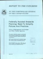 Federally Assisted Areawide Planning PDF