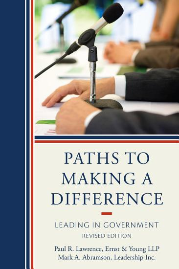 Paths to Making a Difference PDF