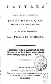 Letters from ... James Hervey to ... Frances Shirley