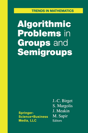 Algorithmic Problems in Groups and Semigroups