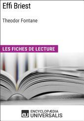 Effi Briest de Theodor Fontane: Les Fiches de lecture d'Universalis