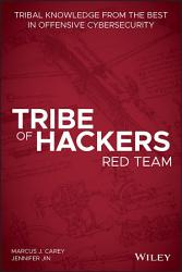 Tribe of Hackers Red Team PDF