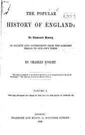 Popular History of England: Volume 1