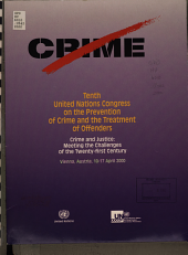 Tenth United Nations Congress on the Prevention of Crime and the Treatment of Offenders PDF