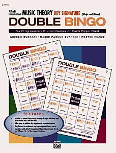 Essentials of Music Theory  Key Signature Double Bingo  Major and Minor  Book