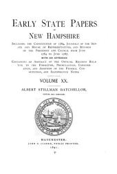 Provincial and State Papers: Volume 20