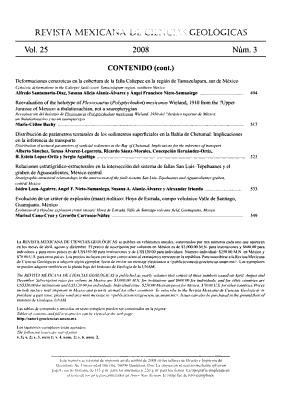 Revista Mexicana de Ciencias Geol  gicas PDF