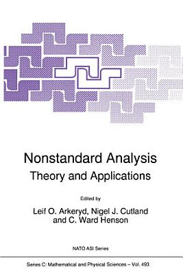 Nonstandard Analysis PDF