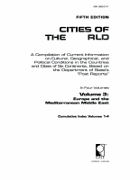 Cities of the World  Europe and the Mediterranean Middle East PDF