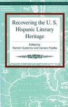 Recovering The U S Hispanic Literary Heritage  Volume VI PDF