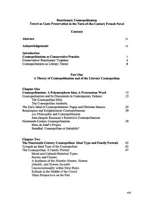 Reactionary Cosmopolitanism PDF