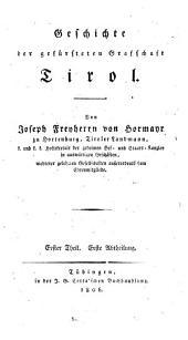 Geschichte der gefürsteten Graffschaft Tirol: 1,1