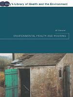 Environmental Health and Housing