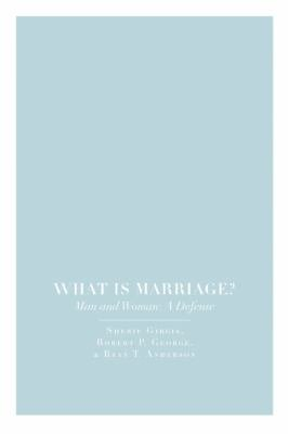 What Is Marriage