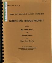 Fox River North End Bridge Approaches Construction, Elgin: Environmental Impact Statement
