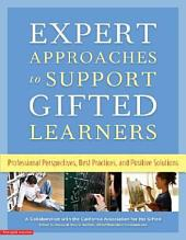 Expert Approaches to Support Gifted Learners: Professional Perspectives, Best Practices, and Positive Solutions