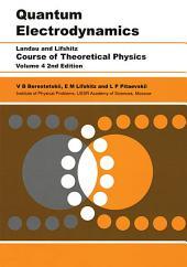 Quantum Electrodynamics: Volume 4, Edition 2