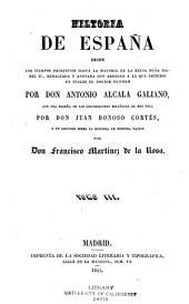 Historia de España desde los tiempos primitivos hasta la mayoría de la reina doña Isabel II: redactada y anotada con arreglo a la que escribió en inglés el doctor Dunham, Volúmenes 3-4