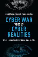 Cyber War Versus Cyber Realities PDF