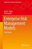 Enterprise Risk Management Models PDF