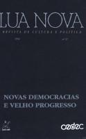 Lua Nova  Revista de cultura de politica PDF