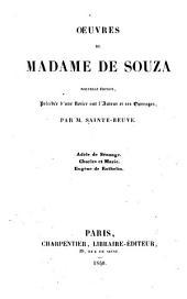 Oeuvres de Madame de Souza