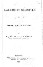 Handbook of Chemistry, for School and Home Use