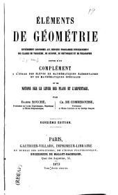 Eléments de géomètrie ...